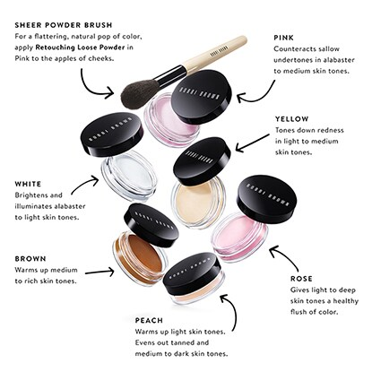 Retouching Loose Powder